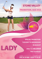 Laydy day promotion